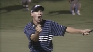 """Sergio Garcia defeats Tiger Woods in """"The Battle at Bighorn"""""""