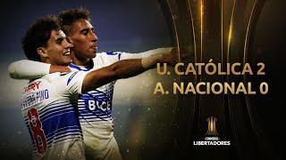 Universidad Católica vs. Atlético Nacional [2-0]   RESUMEN   Fecha 6   CONMEBOL Libertadores 2021