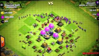 Clash of Clans Angriff