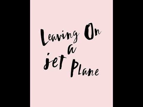 Leaving on a jet plane by chantal kreviazuk lyrics