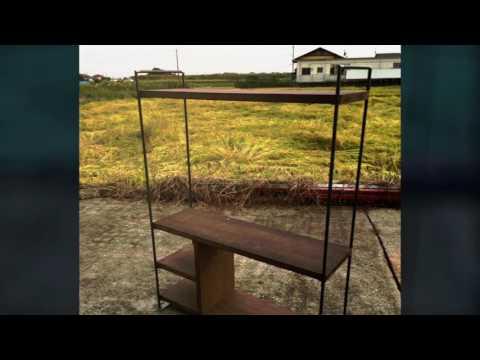 Original Furniture 鉄 木 家具 什器 テレビボード スチール ウッド アイアン