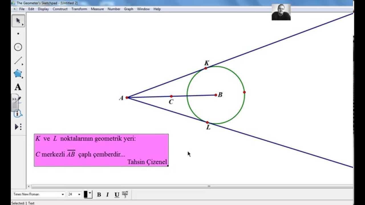 De me noktalar n n geometrik yeri geometer 39 s sketchpad 5 for Sketchpad com