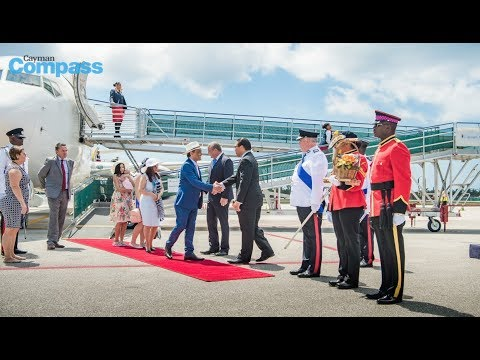 Breaking news: New governor makes arrival in Cayman