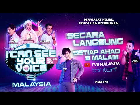 I Can See Your Voice Malaysia Musim 3 Siri 2 - Episod Ketiga