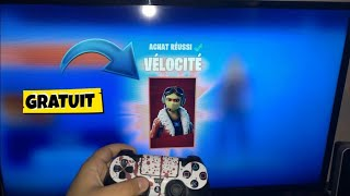 "⚠-EXCLU WORLD HOW TO HAVE THE SKIN ""VELOCITY"" FOR FREE 0 ON FORTNITE (PC,PS4,XBOX,)⚠️"