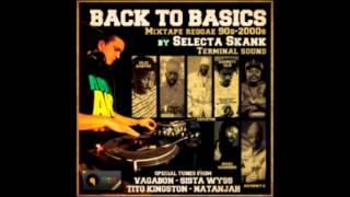 "REGGAE CLASSIC MIXTAPE ""BACK TO BASICS""90"