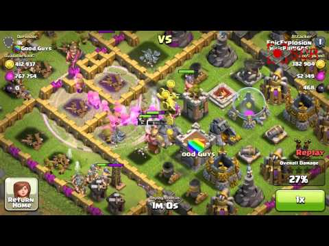 Clash of Clans - Sick 800k With Tier 1 Troops (Archers Barbs)