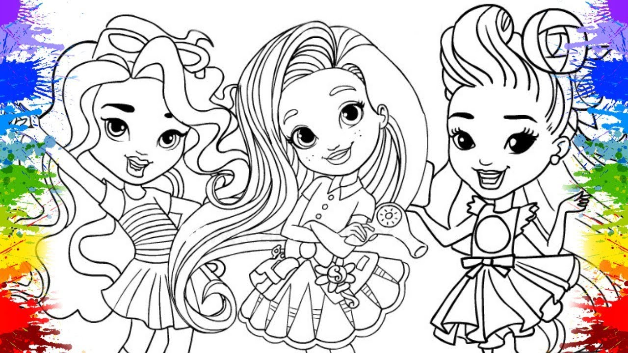 Colorindo Sunny Days Desenhos Animados E Videos Para Criancas