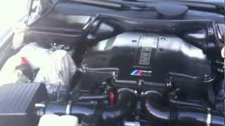 2000 BMW M5 / Washing the engine / Step-by-step