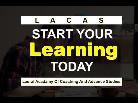 Introduction to Laurel Academy of Coaching and Advanced Studies [LACAAS]