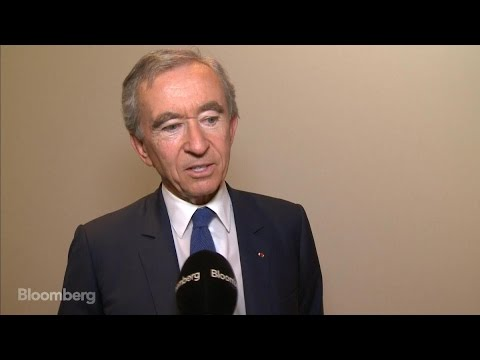 LVMH CEO Arnault Says Rates Create 'Very Strange Period'