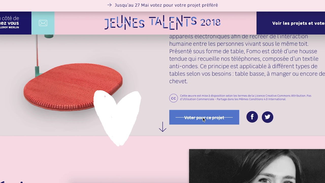 Des Nouveaux Talents Créateurs 2018Le Open Design Jeunes Tremplin UpzMqVS