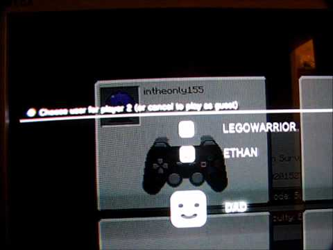 how to put minecraft on 2 players ps3