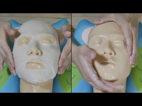 ASMR Skin Care & Lotion Massage (No Talking) - Rubbing, Touching, Tapping