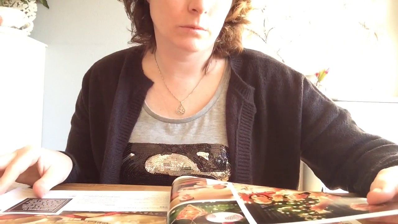 ASMR page turning through magazines with finger licking