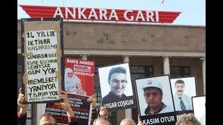 10 Ekim Katliamı'nda hayatını kaybedenler Kadıköy'de anıldı