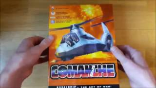 Comanche 3 (PC Big box) Unboxing