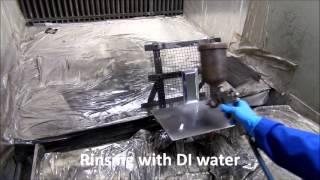 Metallization of Ceramic tiles by Jet Metal