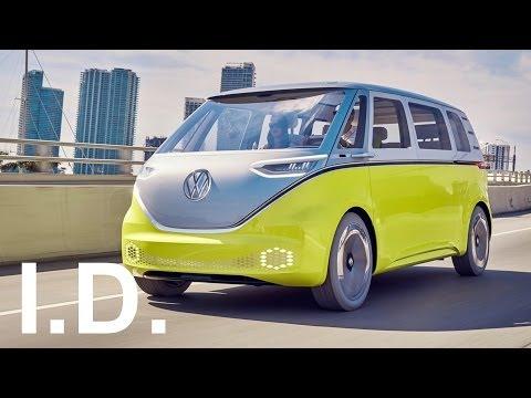 2018 volkswagen id buzz. modren buzz new 2018 volkswagen id buzz  interior exterior and drive with volkswagen id buzz 2