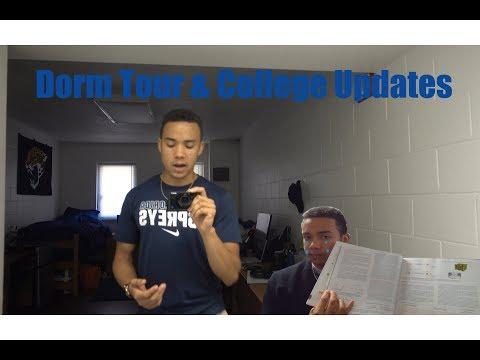 Dorm Room Tour - College Updates (University of North Florida)