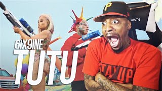 """I REACTED TO 6IX9INE """"TUTU""""  WITHOUT THE MUSIC & IT STILL WAS TRASH!"""