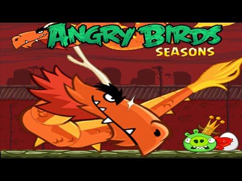 Angry Birds Seasons - Year of the Dragon Walkthrough Part 1