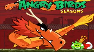 Angry Birds Seasons - Year of the Dragon Walkthrough Part 1