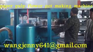 full automatic flower pot flower cup making machine-whatsapp:0086-15153504975