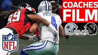 How Adrian Clayborn DOMINATED the Cowboys for SIX SACKS | Coaches Film Review | NFL Network