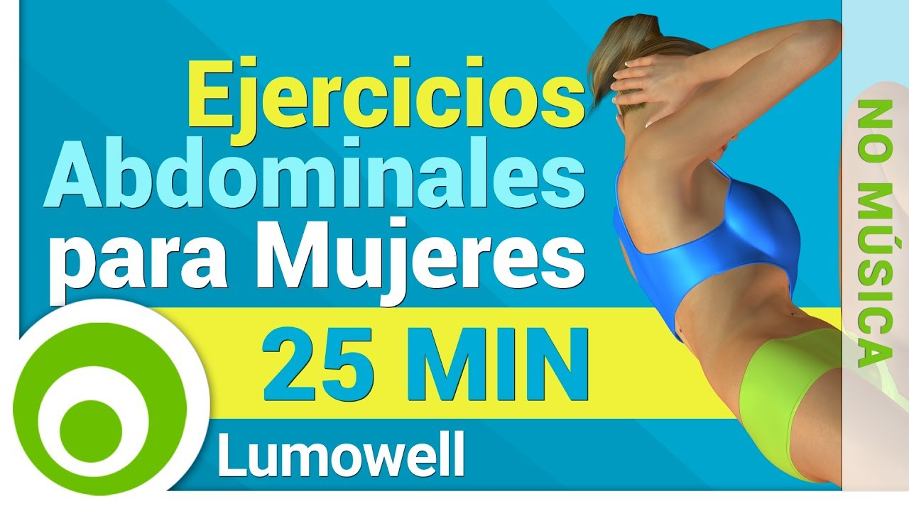 rutina de ejercicios para abdominales mujeres