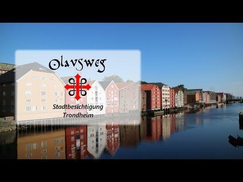Olavsweg 2017 Stadtbesichtigung Trondheim