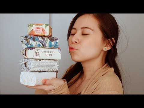 NESTI DANTE Luxury Crafted Soaps From Florence, Italy Unboxing + Review \\ JQLeeJQ