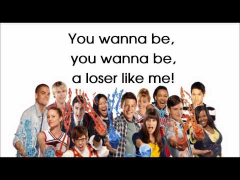 Glee - Loser Like Me (Season 2) - Lyrics On Screen