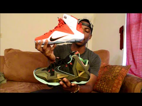sale retailer 3c1bd 07574 Lebron 11 vs 12...Which shoe is better  - YouTube