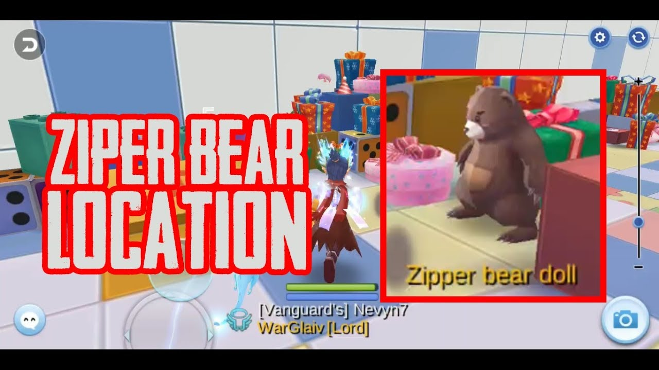 Zipper Bear Doll Location (Toy Factory 2F) - Ragnarok Mobile Eternal Love