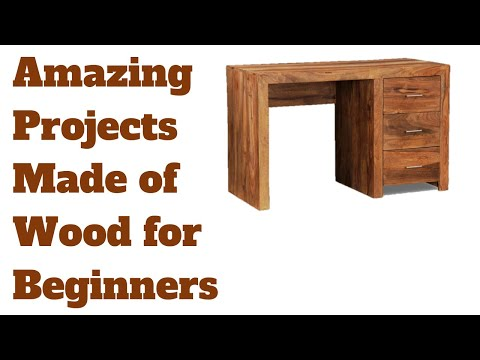 Amazing DIY Projects Made of  Wood for Beginners