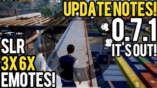 PUBG Mobile 0.7.1 is OUT! All You Need to Know | Lightspeed Chinese Version DOWNLOAD