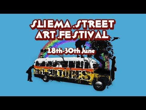 Sliema Street Art Festival 2013