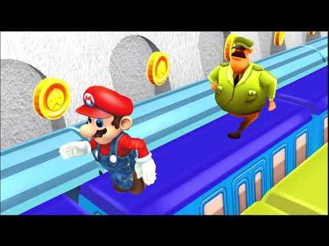 Super Mario Subway Surfers 3D