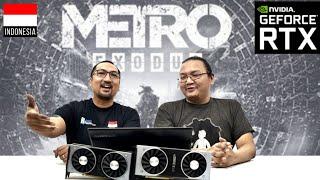 Game PC Terberat? Metro Exodus Ray Tracing ON! NVIDIA GeForce RTX 2080Ti, 2070, 2060 – Indonesia