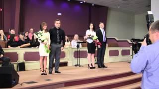Polischuk Liana and Vladimir Shostak, Voznyuk Anna and Oleg Ivanov