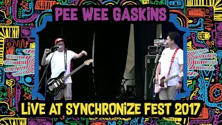 Download lagu Pee Wee Gaskins live at SynchronizeFest - 7 Oktober 2017