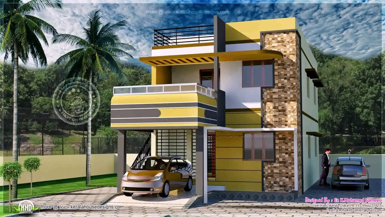 Design Home 880 Sqft Part - 35: 850 Square Feet House Plans In India