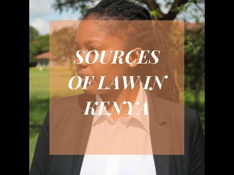 Law 101: Sources of Law