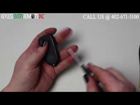 How To Replace A 1998 – 2004 Isuzu Rodeo Key Fob Battery