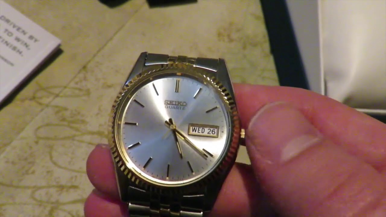 9ddba8bb8 News-seiko mens sgf204 stainless steel two tone watch