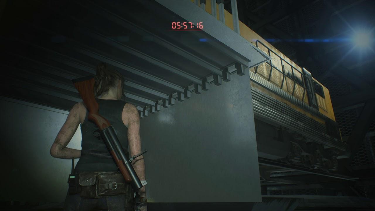 Resident Evil 2 Remake Glitch