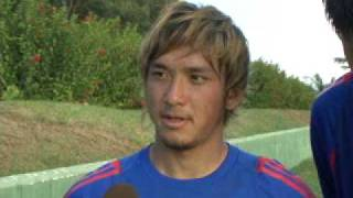 FC東京2009年グアムキャンプ 平山相太選手&中村北斗選手インタビュー...