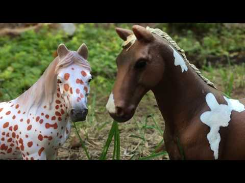 Schleich Horse + Wolf Movie - Dark Paradise