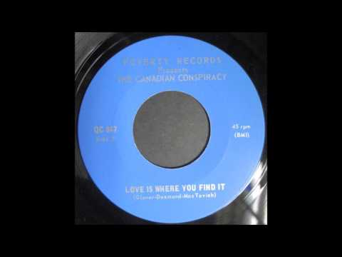"""MAPL Groove: Canadian Conspiracy """"Love Is Where You Find It"""" on Poverty Records (blue-eyed soul 45)"""